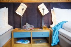 Kindereinzelbetten in der Family Suite (c) Johanna Gunnberg (VALLUGA Hotel)