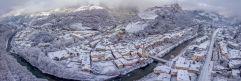 Klausen-Südtirol; Die Künstlerstadt kleidet sich in weiß (c) Rene Gruber (Tourismusverein Klausen)