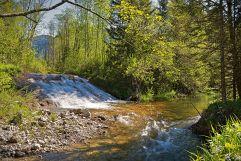 Kleiner Naturwasserfall (Hotel Bergblick)