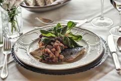 Köstliche Fischvorspeise (Hotel Gemma - Kleinwalsertal Hotels)