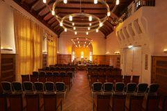 Konzertbestuhlung im festlichen Quirin-Saal (Hotel Asam)