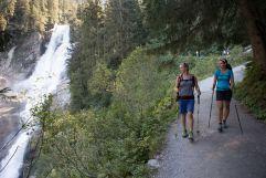Krimmler Achental Wasserfälle (c) RB Dittrich (Castello Königsleiten)