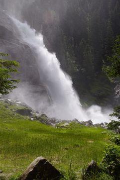 Krimmler Wasserfälle im Sommer (Tourismusverband Krimml)