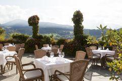 Kulinarischer Genuss auf der Sonnenterrasse im Stephanshof (winzerhotels)