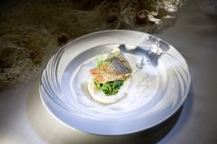 Kulinarisches Highlight Alpenlachs (KOLLERs Hotel)