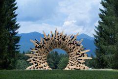 Kunst in der Natur (c) Arte Sella – G. Bianchi (TVB Valsugana Lagorai)