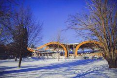Kur- und Entspannungsbad im Winter (c) Tibor Csepregi (Bad Bük)