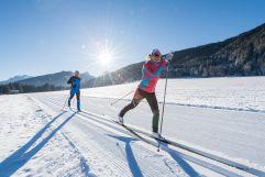 Langlaufen bei herrlichem Sonnenschein (c) wisthaler.com (Hotel Quelle Nature Spa Resort)