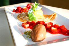 Leckere Dessertvariation (Hotel Bergblick)