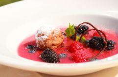 Leckeres Dessert (Hotel Alpina)