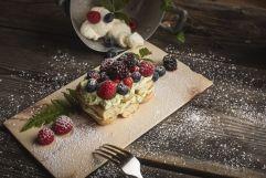 Leckeres Dessert mit Beeren (c) Armin Huber (Hotel Tann)