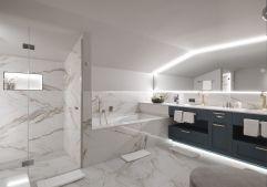 Luxuriöses Badezimmer der Junior Suite (c) Rainer Hofmann Photodesign (Hotel Zürserhof)
