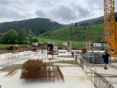 Mitten auf der Skipiste entsteht das COOEE Alpin Hotel (COOEE alpin hotel Bad Kleinkirchheim)