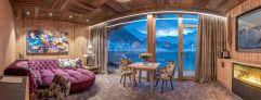 Moderne Sky Suite mit traumhaftem Ausblick (c) Alexander Maria Lohmann (Alpen-Wellness Resort Hochfirst)