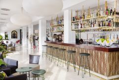 Moderner Barbereich (c) Johanna Gunnberg (Hotel Espléndido)