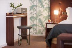 Modisch eingerichtetes Hotelzimmer (c) Johanna Gunnberg (Hotel Espléndido)
