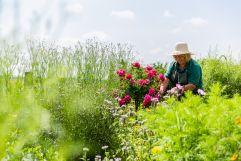 Monika genießt die Natur (c)Kirchgasser Photography (VILA VITA Pannonia Pamhagen)