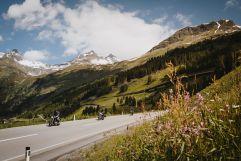 Motorradtour bei traumhafter Bergkulisse (Wanderhotel Gassner)