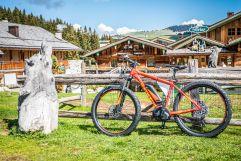 Mountainbiken auf der Seiser Alm (Tirler-Dolomites Living Hotel)