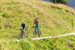 Mountainbikestrecken inmitten der beeindruckenden Natur (TVB Tux-Finkenberg)