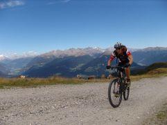 Mountainbiking in Olang © Heidi Hauser