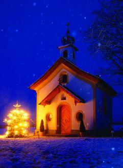 Nachtaufnahme Peternhof Kapelle (Peternhof)