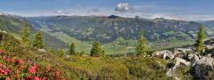 Neukirchen und Bramberg - Blick aufs Tal (Wildkogel Arena)