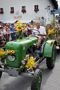 Oldtimer Traktoren beim Bauernherbst (c) Florian Bachmeier (Tourismusverband Rauris)