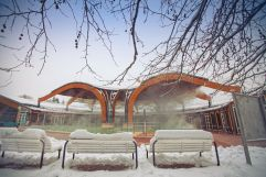 Outdoor-Kur- und Entspannungsbad im Winter (c) Tibor Csepregi  (Bad Bük)