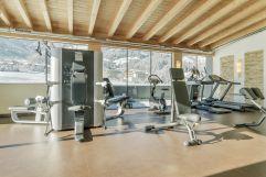 Panorama-Fitnessraum (alpina zillertal)