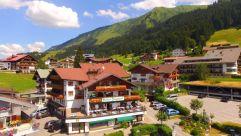 Panoramaansicht bei Sonnenschein (Hotel Jagdhof)