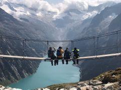 Panoramablick über den See auf die Zillertaler Alpen von der Olpererhütte aus (c) Tourismusverband Tux (Alpinhotel Berghaus)