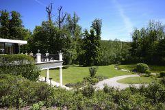 Park Ansicht im Sommer (Schlosspark Mauerbach)