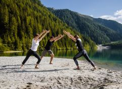 Pilates am Bergsee (c) Agentur Giggle (Hotel Quelle Nature Spa Resort)