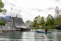 Predator Race - Jump in´s Wasser (c) Wildkogel -Arena Neukirchen & Bramberg