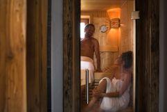 Private Sauna im Komfort-Chalet (Alpzitt Chalets)