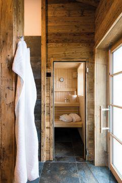 "Privater Spa mit eigerner Sauna im Kuschel-Chalet ""s´gmietlenè"" (c) www.studiowaelder.com (Alpzitt Chalets)"