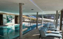 Relaxen am Indoorpool (Hotel Bergblick)