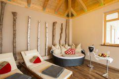 Relaxen mit Champagner im PrivateSpa Romantik (Gut Edermann)