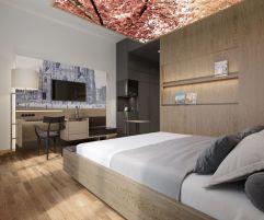 Renoviertes Zimmer im modernen Look (Hotel am Stephansplatz)