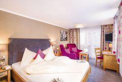 Romantisches Doppelbettzimmer (Parkhotel Burgmühle)