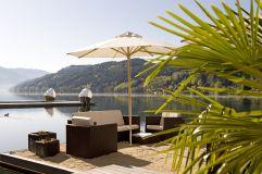 Sandfloss mit Sitzmöglichkeiten (KOLLERs Hotel)