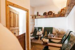 Sauna Brotbad Sitzmöglichkeiten (Hotel Tann)