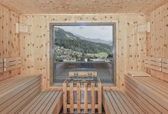 Sauna im PenthouseSPA (alpina zillertal)