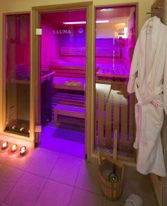Sauna mit Lichttherapie (Hotel am Stephansplatz)