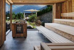 Sauna mit Panoramablick (c) Daniel Breuer (Wanderhotel Gassner)