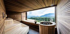 Sauna mit Panoramablick im Christof (c) Helmuth Rier (winzerhotels)