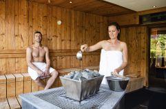 Saunaauszeit für die Erwachsenen (c) Daniela Jakob (Oberjoch - Familux Resort)