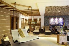 Saunaliegen im Hotel (Hotel Bergblick)