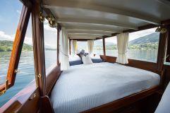 Schlafkoje am Boot (KOLLERs Hotel)